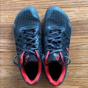 Reebok CrossFit CF74 sneakers US10.5 Black/red